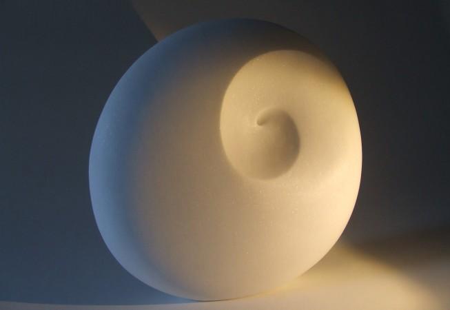 Ange, marbre blanc Brésil, 40cmx38cmx11cm